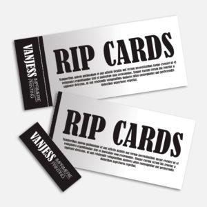 Business cards rip card colourmoves